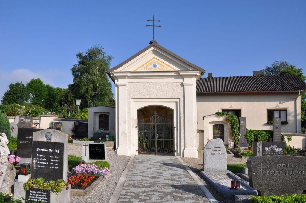 Kapelle auf dem Friedhof Ruprechtshofen